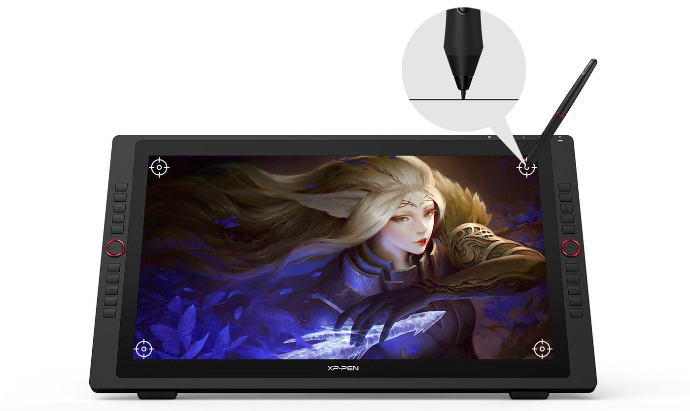 Una experiencia de usuario mejorada drásticamente Con pantalla gráfica XP-Pen Artist 24 Pro