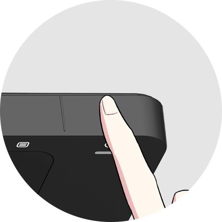 Tocar teclado sensible