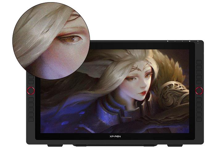 tableta digitalizadora XP-Pen Artist 22R Pro con una pantalla grande de 21,5 pulgadas de FHD 1920 X 1080