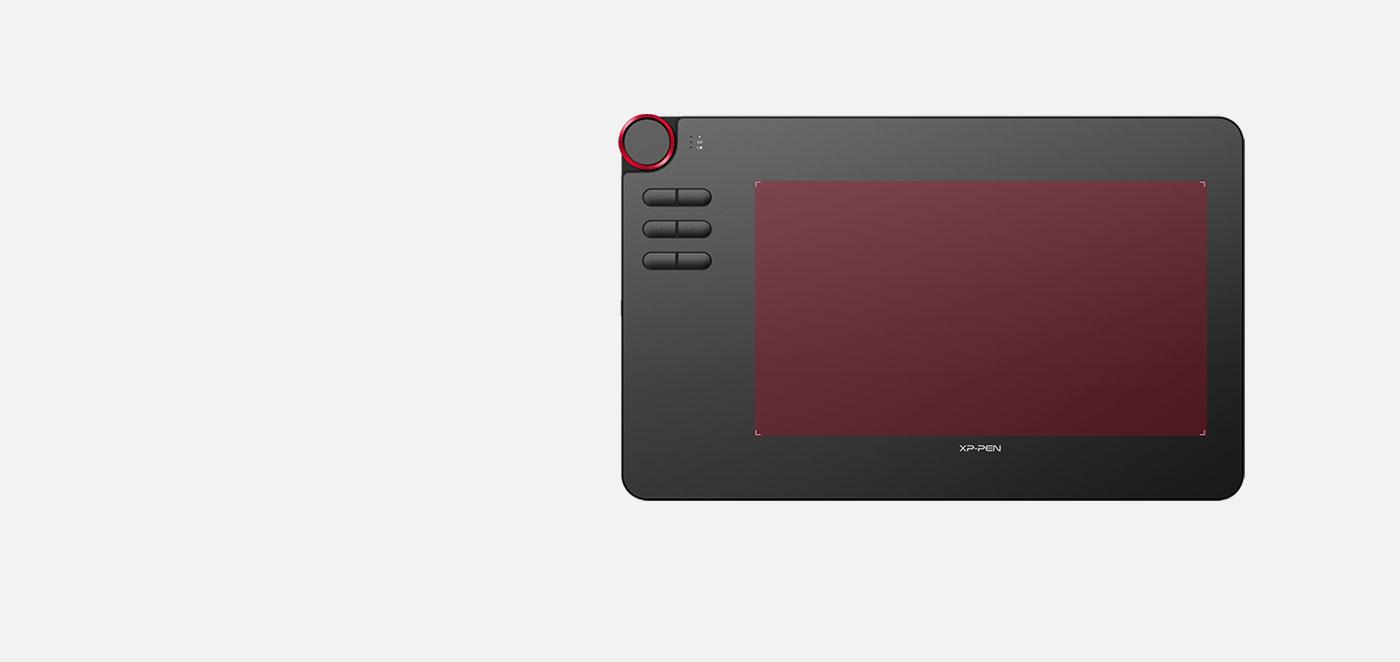 XP-Pen Deco 03 Tableta gráfica inalámbrica Con área trabajo de 10 x 5.62 Pulgadas