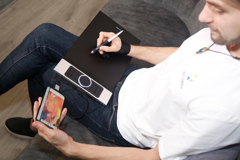 diseño grafico , pintar y Dibujar Con pantalla gráfica XP-Pen Deco Pro