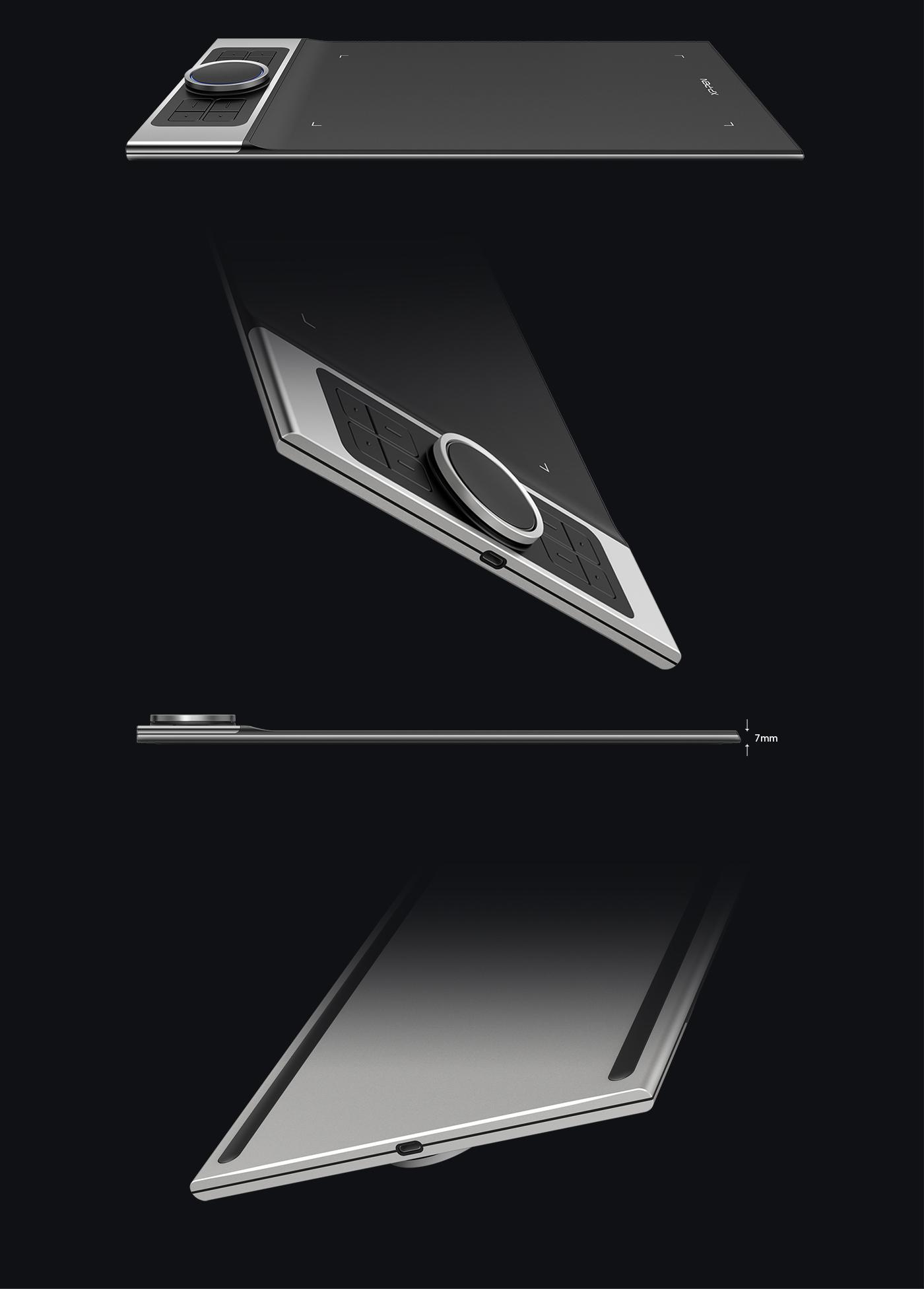 XP-Pen Deco Pro Profesional tableta digitalizadora para dibujar y diseño grafico