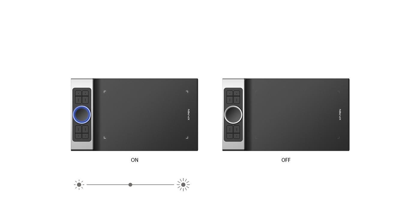 Ilumina tu flujo de trabajo Con Tableta gráfica Profesional XP-Pen Deco Pro