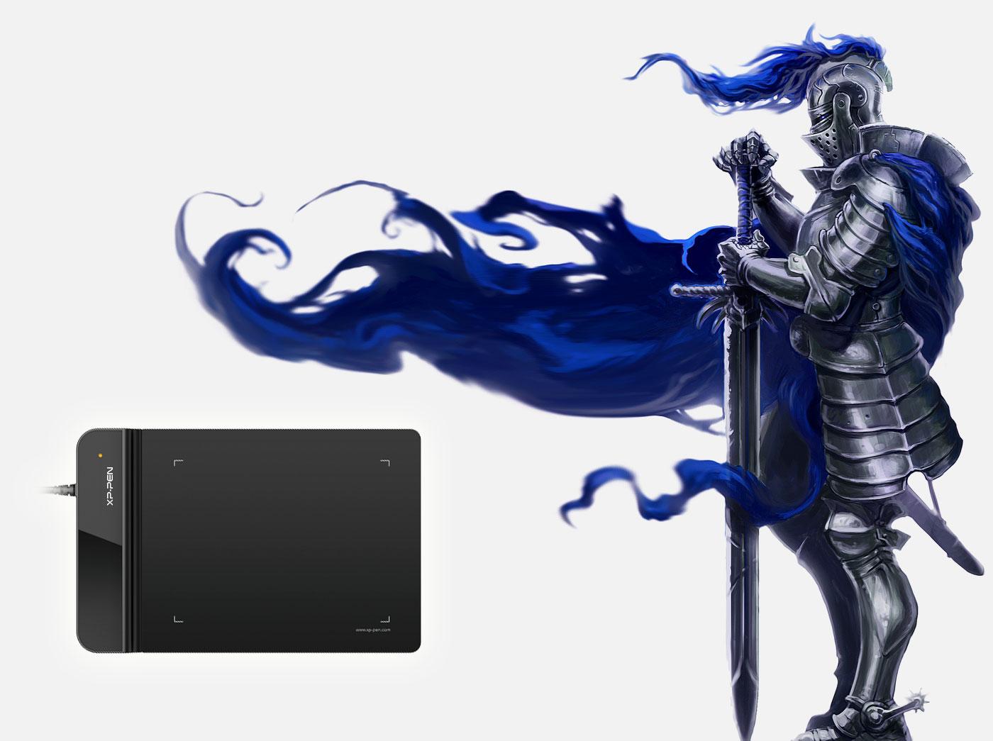 Tamaño compacto y rendimiento incompatible Con Tableta gráfica XP-Pen Star G430S