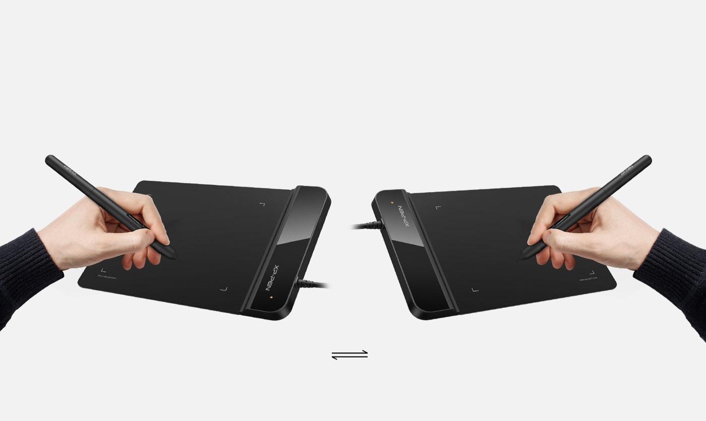 XP-Pen Star G430S Tableta gráfica Perfecto para usuarios diestros y zurdos