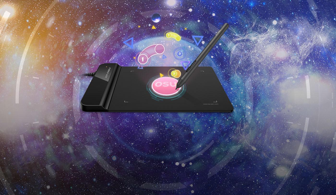 XP-Pen Star G430S Tableta gráfica Mejor opción para jugar OSU