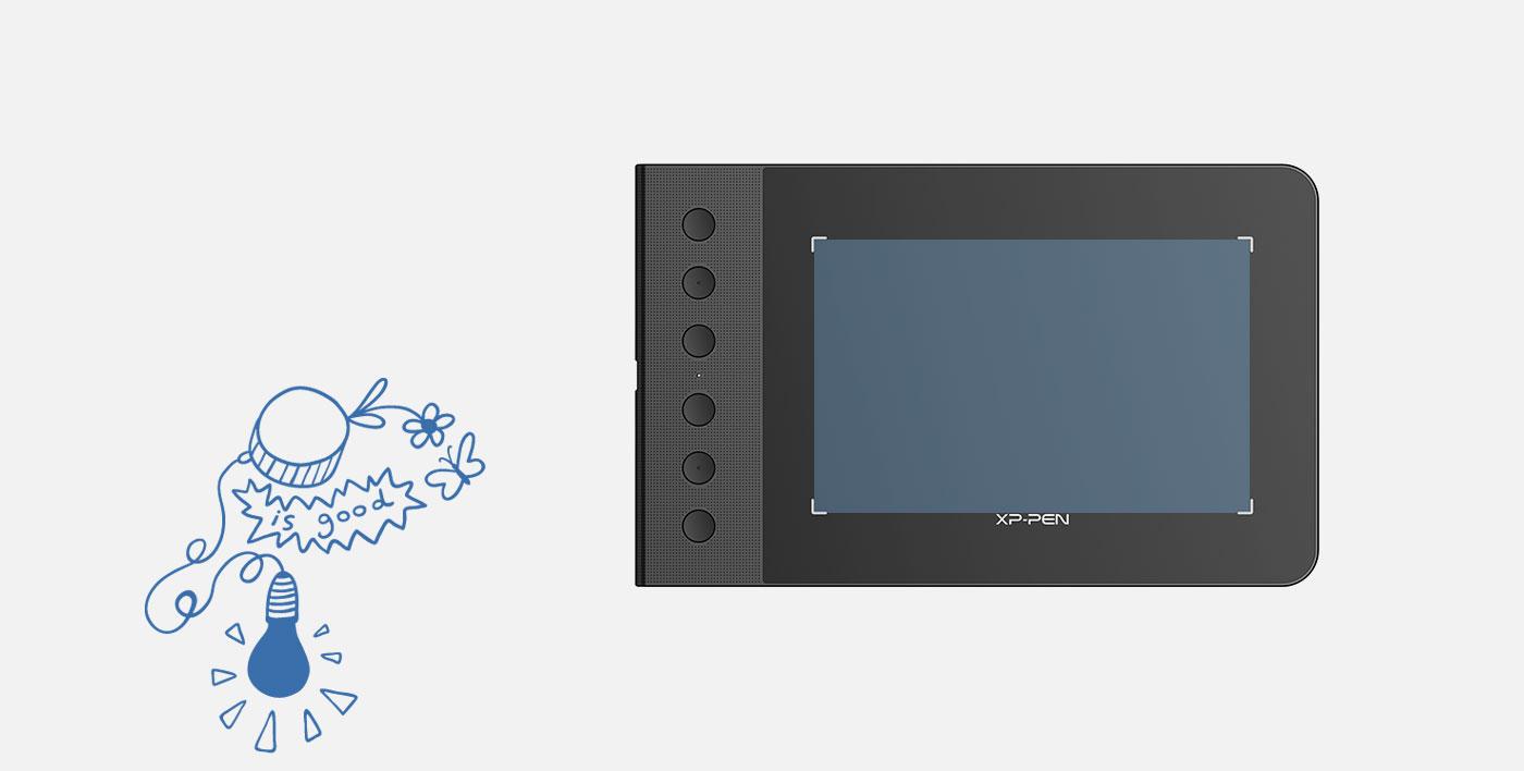 tablet para dibujar XP-Pen Star G640S Con Área trabajo de 6 x 3.75 pulgados