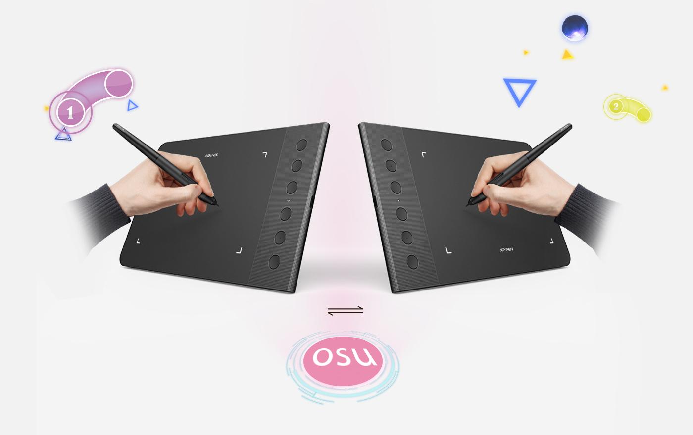 XP-Pen Star G640S Tableta gráfica Perfecto para usuarios diestros y zurdos